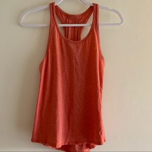 Lululemon • Soft Deep Coral Pleated Tank Top 4